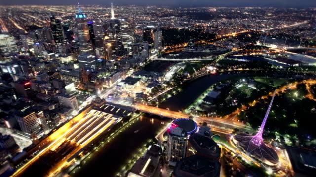 メルボルン,オーストラリア - オーストラリア メルボルン点の映像素材/bロール