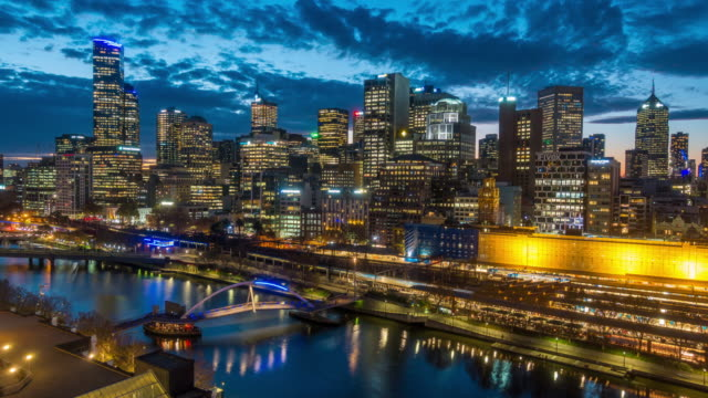 La ville de Melbourne - Vidéo