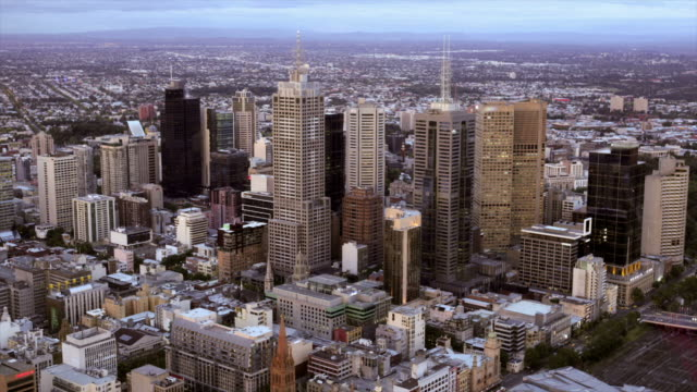 Melbourne City Timelapse HD video