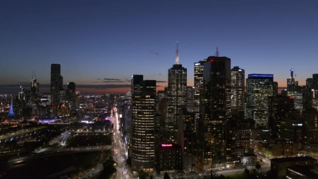 オーストラリア、ビクトリア州メルボルン市 - オーストラリア メルボルン点の映像素材/bロール