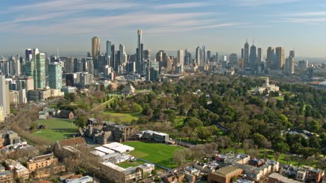 メルボルン、ビクトリア - オーストラリア メルボルン点の映像素材/bロール