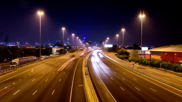 Melbourne night Traffic video