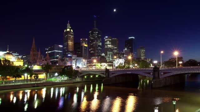 Melbourne Sunrise Motion Timelapse (Hyperlapse) video