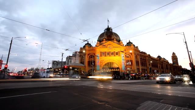メルボルン - オーストラリア メルボルン点の映像素材/bロール