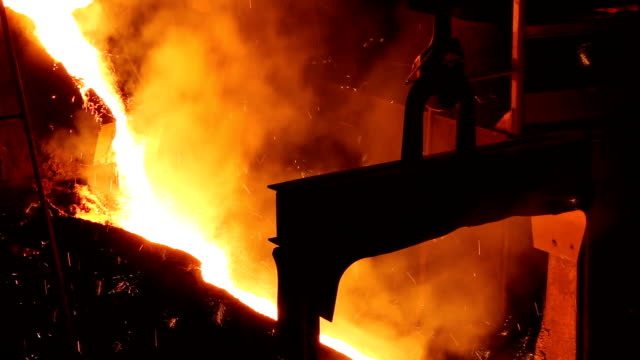 Melting Iron in the Foundry video