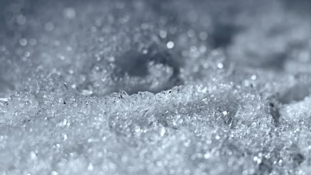 Melting Snow / Melting Ice / Melting Iceberg / Global Warming Effect video