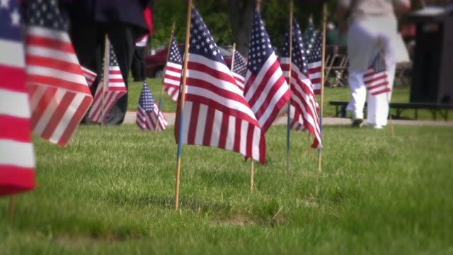 US Memorial Day. American culture. War, Love, Honor, Patriotism. video