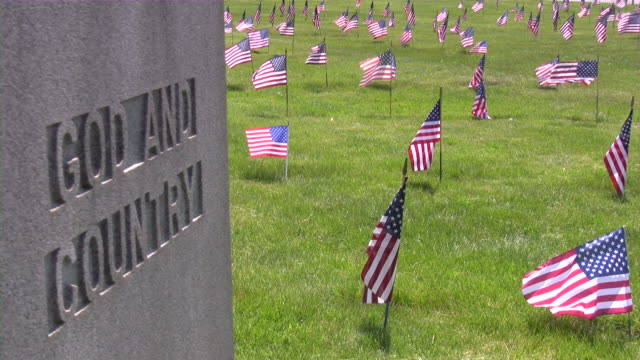 Memorial Day. American flag & culture. War Cemetery. Honor, Patriotism. Memorial Day. American flag & culture. War Cemetery. Honor, Patriotism. memorial day stock videos & royalty-free footage