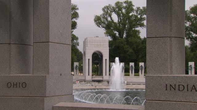 hd ww2 memorial zoomin_1 (1080/24p) - minnesmärke bildbanksvideor och videomaterial från bakom kulisserna