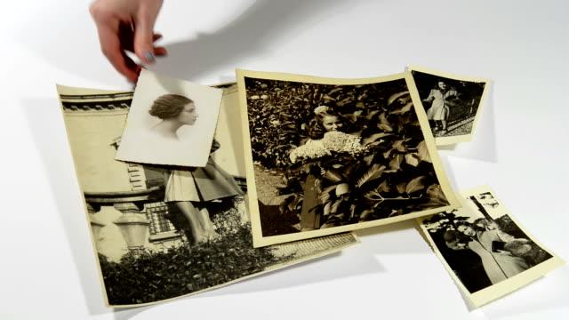 unvergessliche erinnerungen - fotografisches bild stock-videos und b-roll-filmmaterial