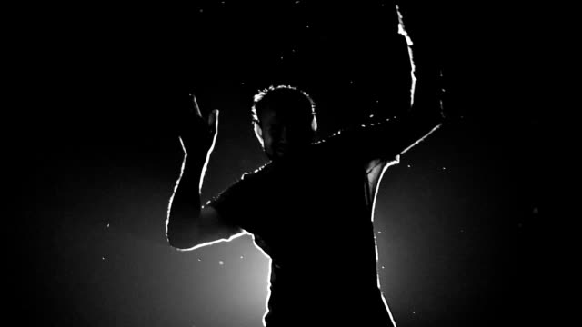 Men Dance silhouette video