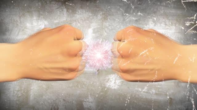 男性の拳 - 拳 イラスト点の映像素材/bロール