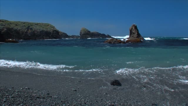 Mendocino Beach video