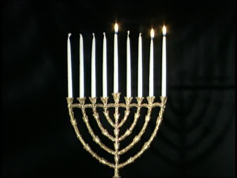Menorah w/Candles video
