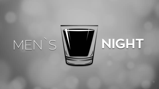 men`s night - happy hour video stock e b–roll