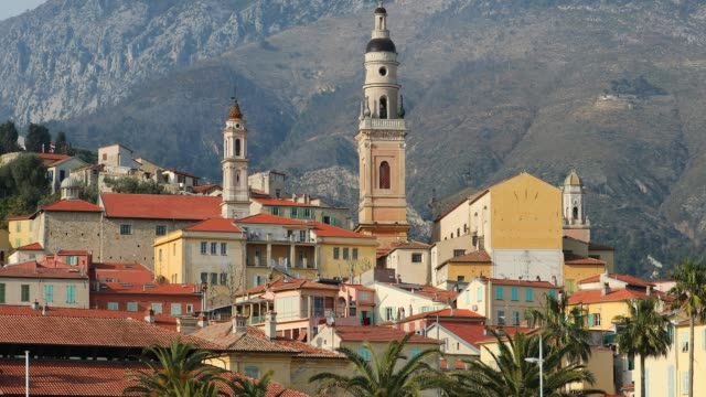 Menton Old Town, France, French Riviera