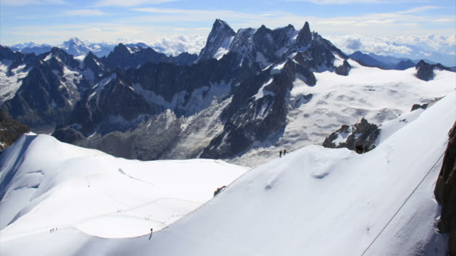 Mer du Glace time lapse, French Alps video