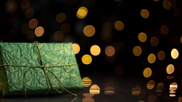 god jul och gott nytt år bakgrund - christmas presents bildbanksvideor och videomaterial från bakom kulisserna
