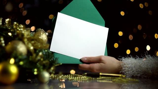 메리 크리스마스와 새해 복 야 배경 - holiday 스톡 비디오 및 b-롤 화면