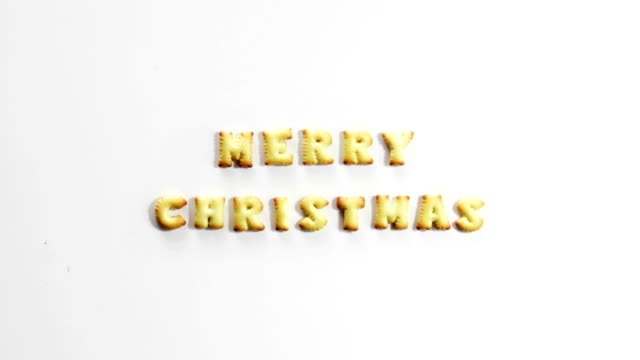 merry christmas crackers stop motion animation video