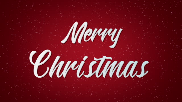 merry christmas text - treedeo christmas stock videos & royalty-free footage