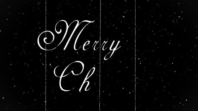 buon natale - christmas movie video stock e b–roll