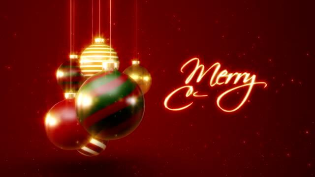 Frohe Weihnachten mit Ornament – Video