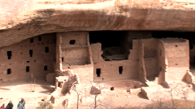 Mesa Verde Spruce Tree ruin zoom out video