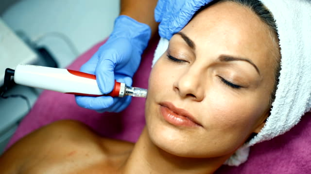 mesotherapy treatment - facial stock videos & royalty-free footage