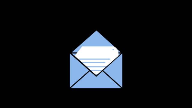 Message envelope icon 4k