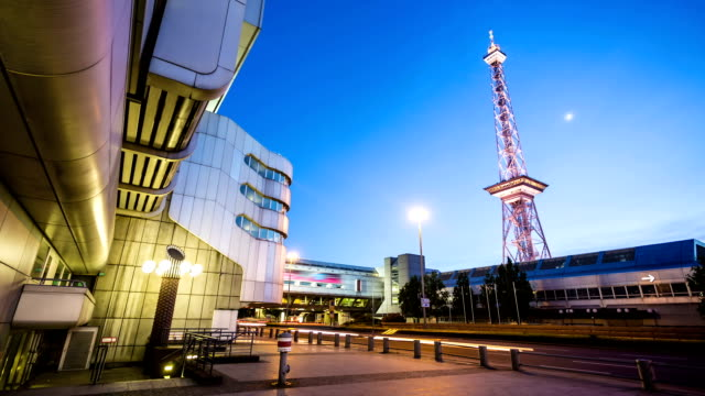 メッセベルリン funkturm 付き - 展示会点の映像素材/bロール