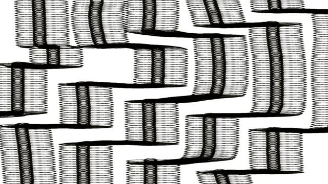 stockvideo's en b-roll-footage met rommelige objecten motion-graphic animatie. doodle decoratie visuals. - doodles