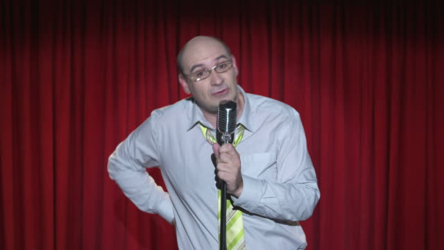 HD: Messy Stand Up Comedian video