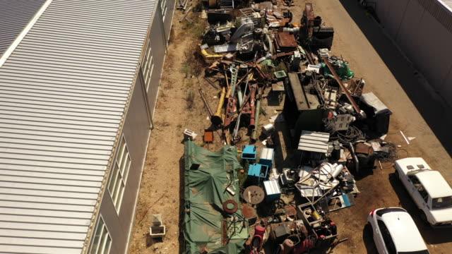 Metal and iron junkyard