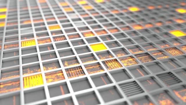 金屬格柵, 帶發光的線條和元素 - {{asset.href}} 個影片檔及 b 捲影像