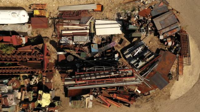 Metal junkyard