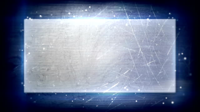 metal plate and backlight loopable background video