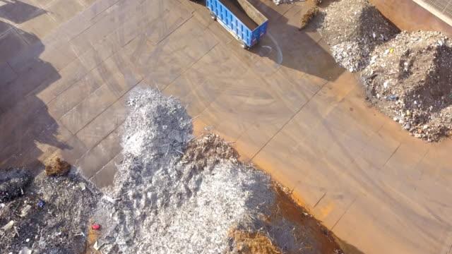Metal Waste Aerial View