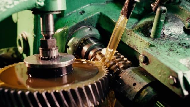 金属加工機械クローズアップビデオ ビデオ