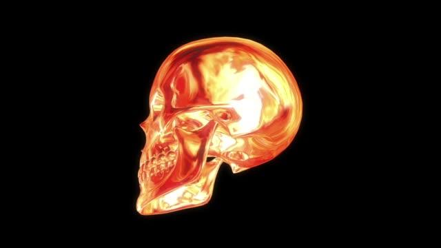 Metallic Fire Scull – Video