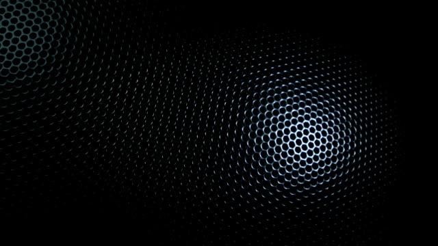 Metallic grid motion background.
