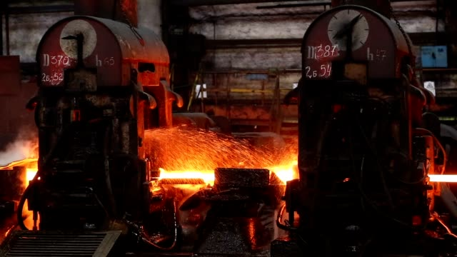 Metallurgy. Machines that move hot steel. Impressive. Metallurgy. Machines that move hot steel. Impressive furnace stock videos & royalty-free footage