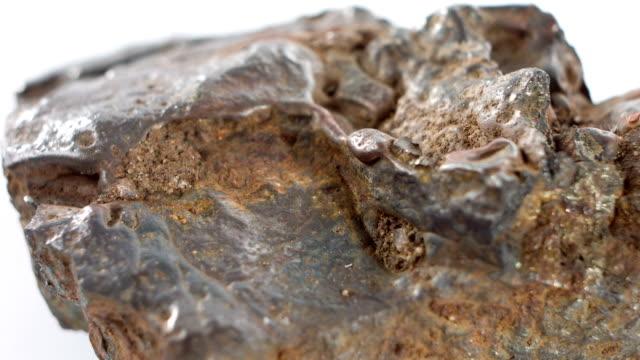 Meteorite macro video