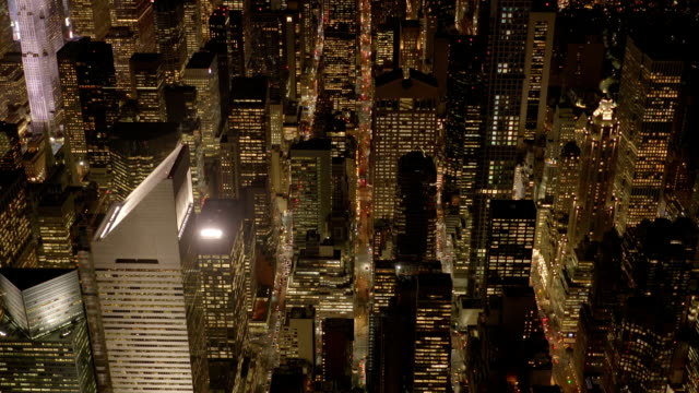 metropolis scenery landmark. skyline cityscape background. manhattan in new york city video