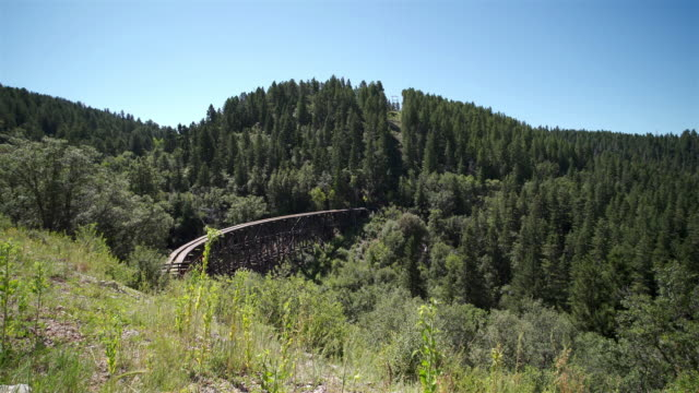 Mexican Canyon Railroad Trestle, Cloudcroft, NM