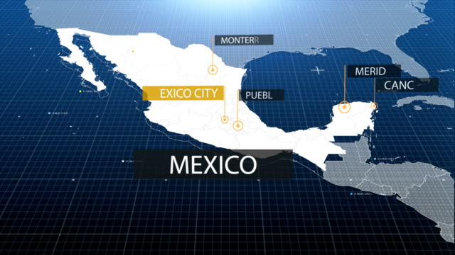 mexican  map video