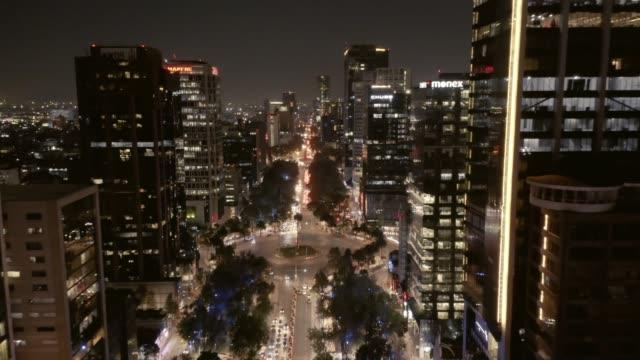 Mexiko-Stadt, Luftaufnahme. – Video