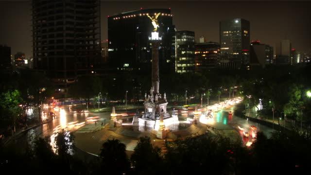 La ciudad de México, ángel de Indepence - vídeo
