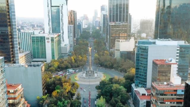 Ciudad de México, Ángel de la independencia - vídeo