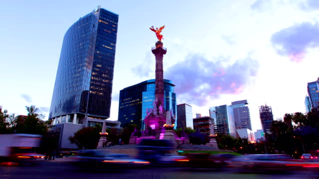 Mexico City, Angel of Independence video